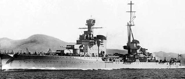 Тяжелый крейсер «Bolzano»