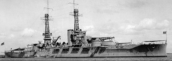 Линейный корабль «Oklahoma» (ВВ-37)