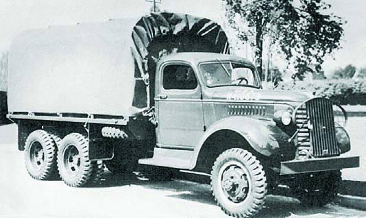Бортовой грузовик GMC ACK WX-353