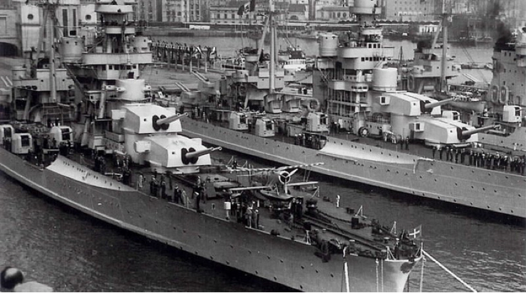 Тяжелые крейсера «Zara» и «Fiume»