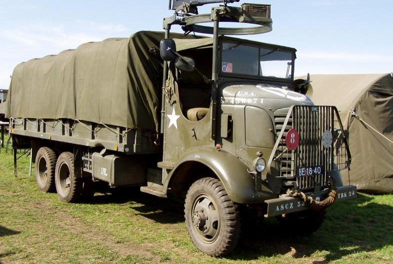 GMC AFKWX-353 - грузовик с пулеметной турелью