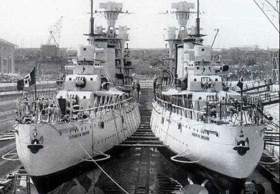 Тяжелые крейсера «Alberico da Barbiano» и «Alberto di Giussano»