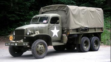 Грузовик с цельнометаллической кабиной GMC CCKW 352/353