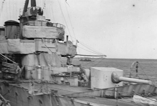 корабельное орудие BL-5.5 inch Mk-I