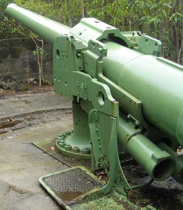 Корабельное орудие BL-6 inch Mk-VII