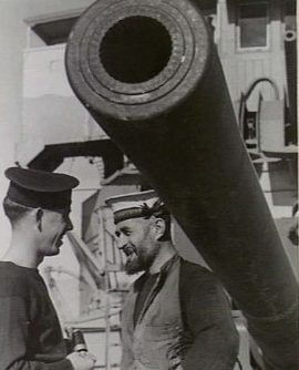 """ствол орудия 6""""/ 50 BL Мk-XIII"""
