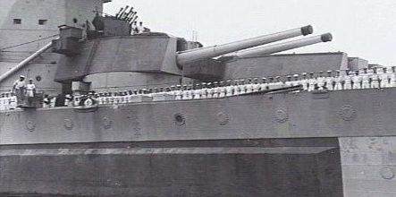 орудие BL-14 в двухорудийной башне Мk-II