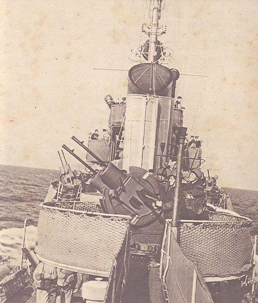 Спаренное зенитное орудие Breda. 20-mm/65 Mod. 1935