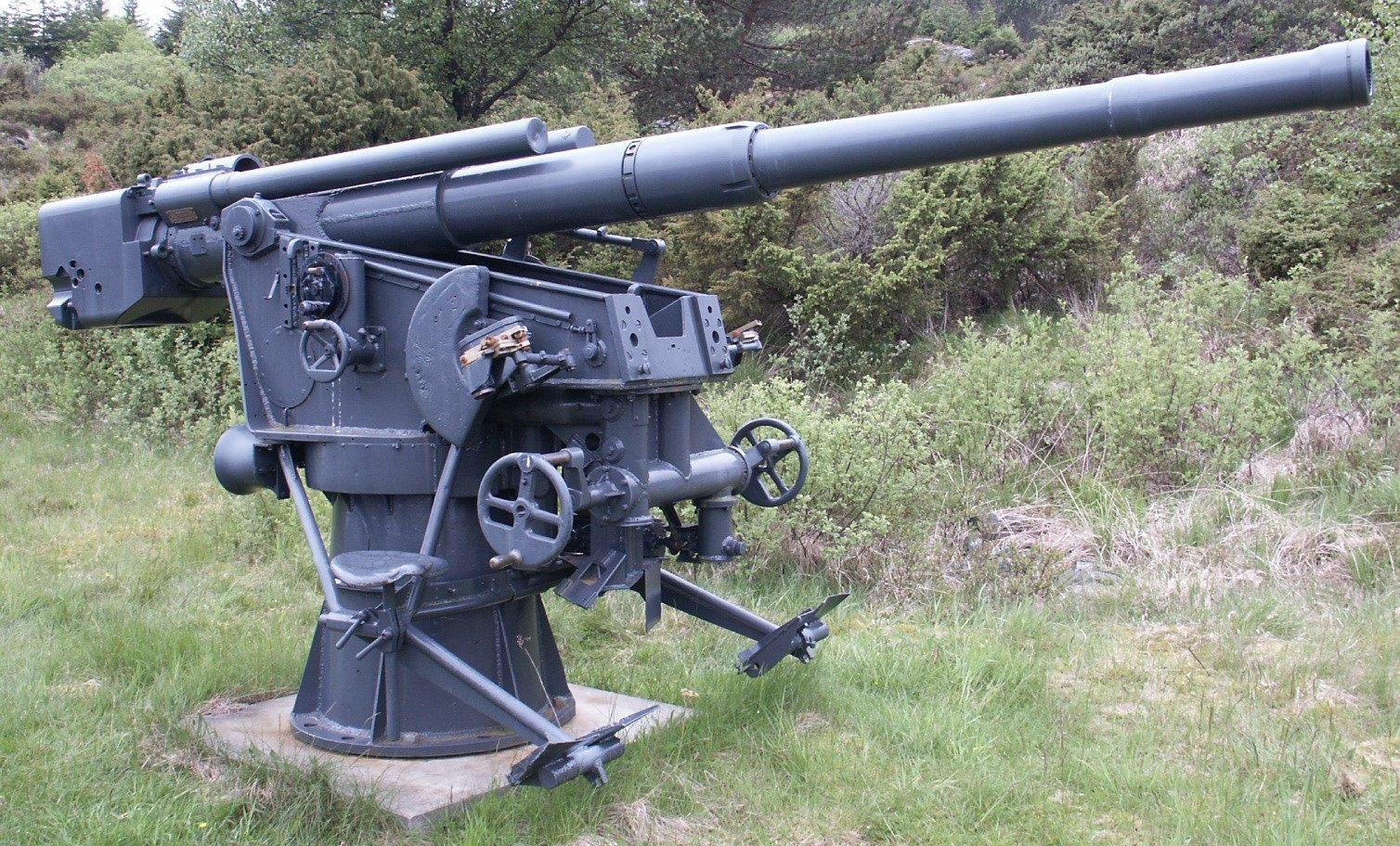 Корабельное орудие 8,8-cm SK C/30 naval gun