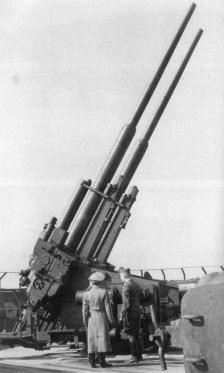 128-мм спаренная зенитная пушка Flaк-40