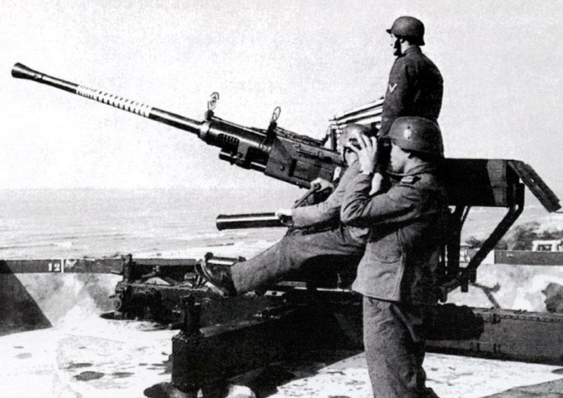 Зенитная пушка 4-cm Flak-28 (Bofors)