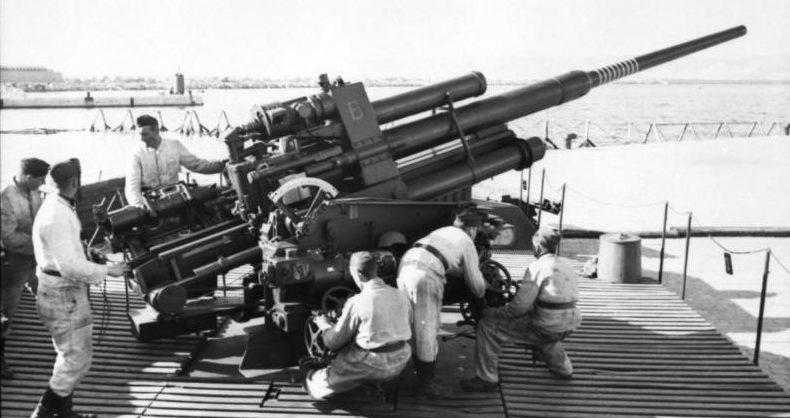 Зенитная пушка 105-mm Flak-39
