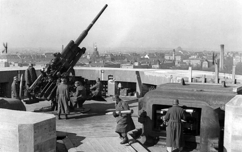 Зенитная пушка 128-mm Flak-40