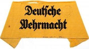 Нарукавная повязка для членов женского вспомогательного персонала Вермахта
