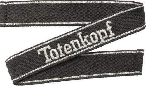 Нарукавная офицерская лента танковой дивизии CC «Totenkopf».