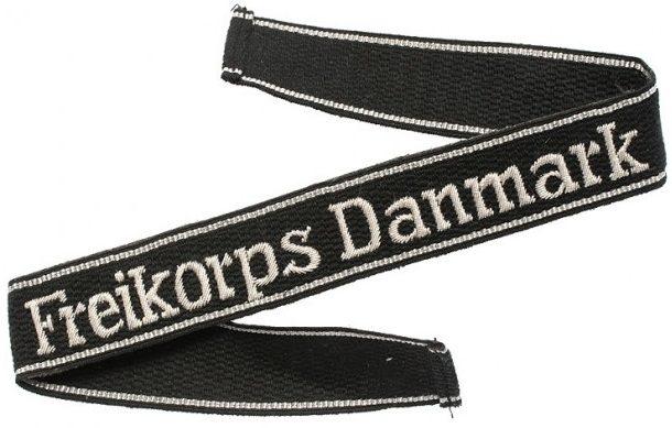 Нарукавная офицерская лента «Freikorps Danmark»