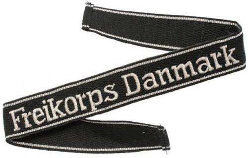 Нарукавная офицерская лента «Freikorps Danmark».