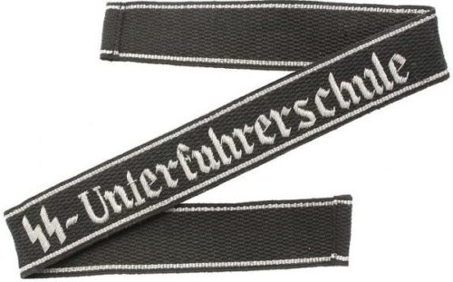 Нарукавная офицерская лента «SS-Unterfuhrerschule».