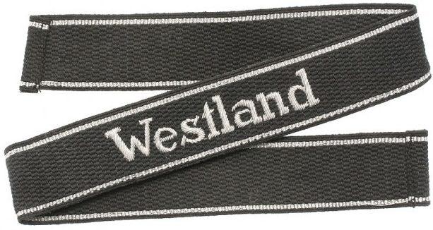 Нарукавная офицерская лента «Westland»