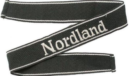 Нарукавная офицерская лента 11-й панцегренадерской дивизии СС «Нордланд».