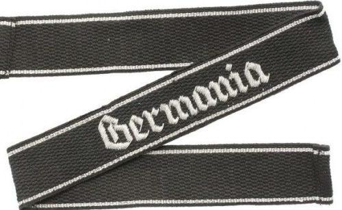 Нарукавная офицерская лента штандарта СС «Germania».