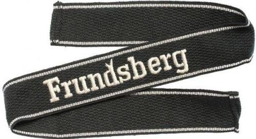 Нарукавная офицерская лента дивизии СС «Frundsberg».