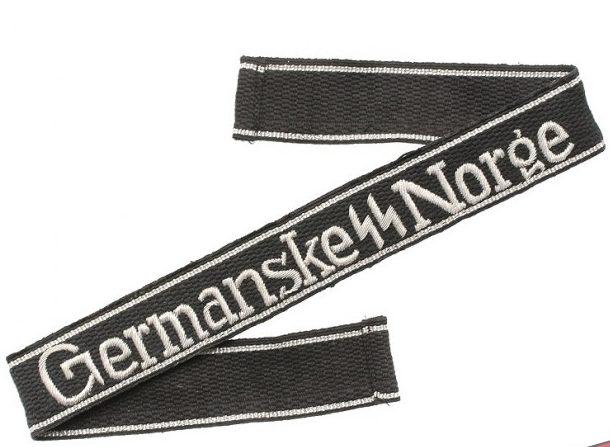 Нарукавная офицерская лента «Германские СС Норге»