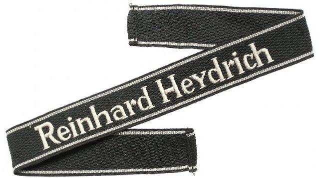 Нарукавная солдатская лента 11-го полка СС «Reinhard Heydrich»