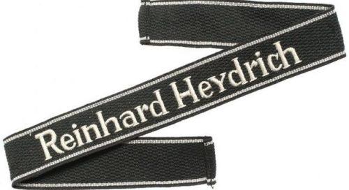 Нарукавная солдатская лента 11-го полка СС «Reinhard Heydrich».