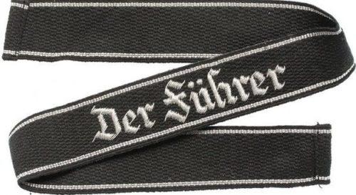 Нарукавная офицерская лента штандарта СС «Der Fuhrer».