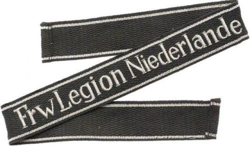 Нарукавная офицерская лента добровольческого легиона «Нидерланды».