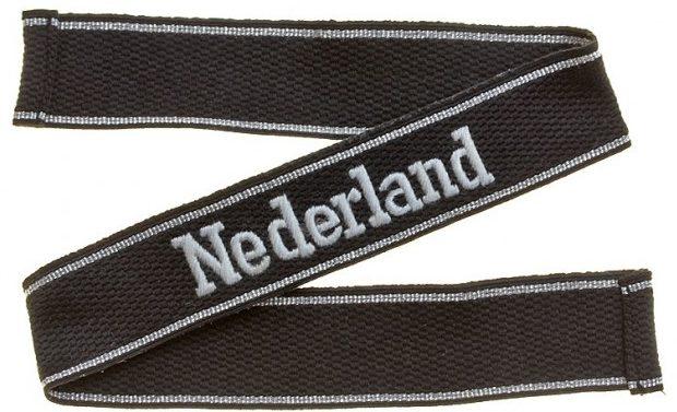 Нарукавная солдатская лента 23-й добровольческой моторизованной дивизии СС «Недерланд»