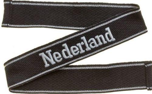 Нарукавная солдатская лента 23-й добровольческой моторизованной дивизии СС «Недерланд».