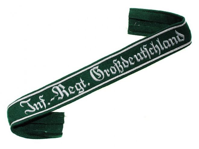 Нарукавная офицерская лента полка «Великая Германия»