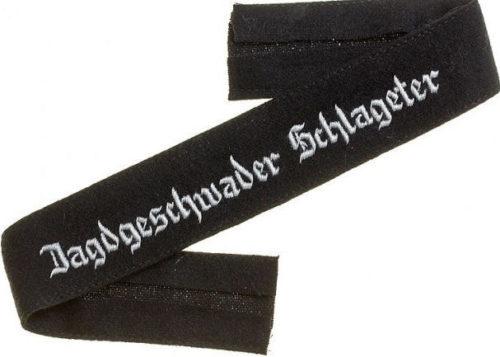 Нарукавная офицерская лента 26-й истребительной эскадры «Шлагетер».