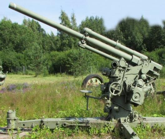 зенитная пушка 75-mm Bofors M/30