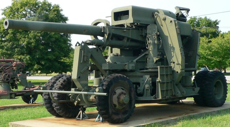 Зенитная пушка 120-mm Gun M-1
