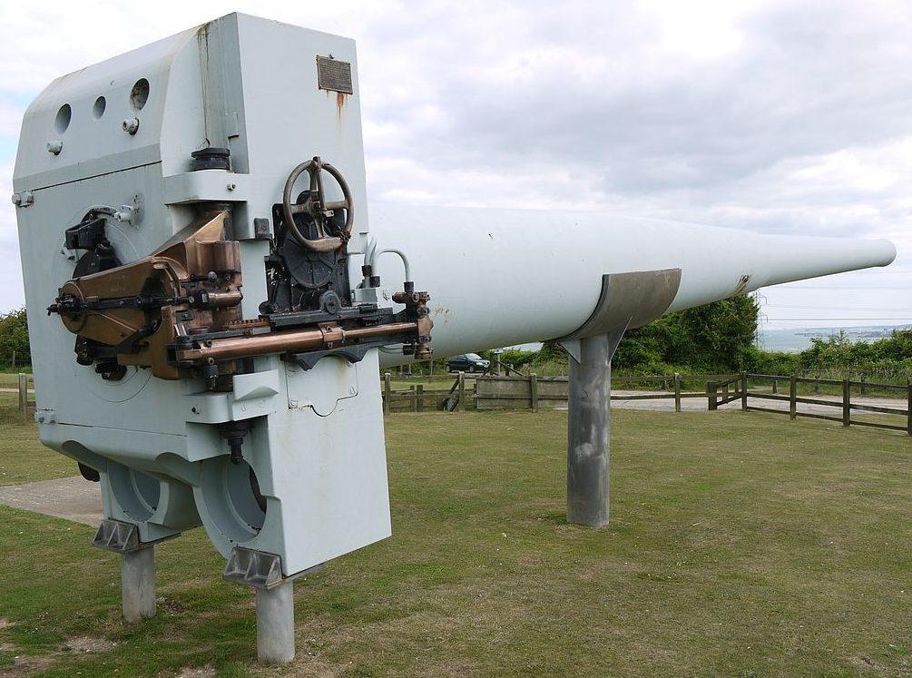 Корабельное орудие BL-14 inch Mk-VII