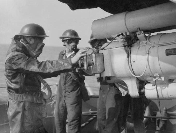 """Корабельное орудие 4.7""""/45 BL Mk-I"""