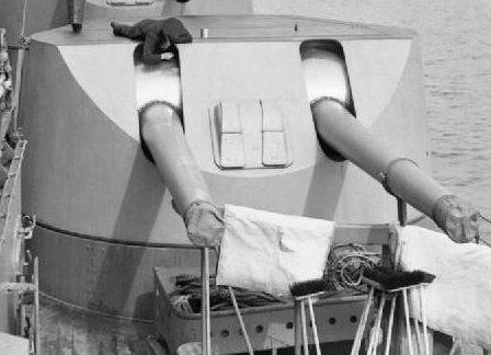 """Корабельное орудие 6""""/ 50 BL Мk-XXII"""