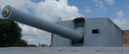 BL-9.2 inch Mk-X в качестве берегового орудия