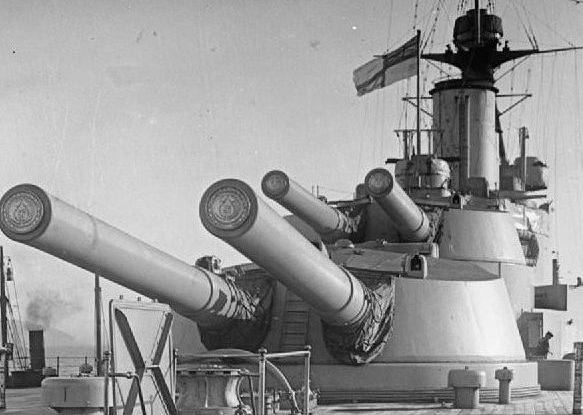 Корабельное орудие BL-13.5 inch Mk-V