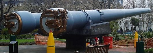 стволы корабельного орудия BL-15 inch Mk-I
