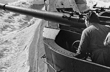 Корабельное орудие QF-4 inch Mk-XII