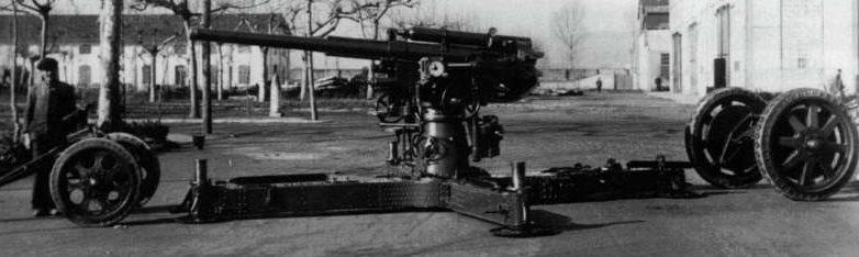 Зенитная пушка 75-mm /46 mod. 35