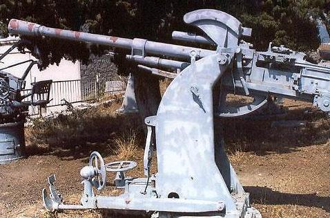 Зенитное орудие 37-mm/54. Model 1939 г.
