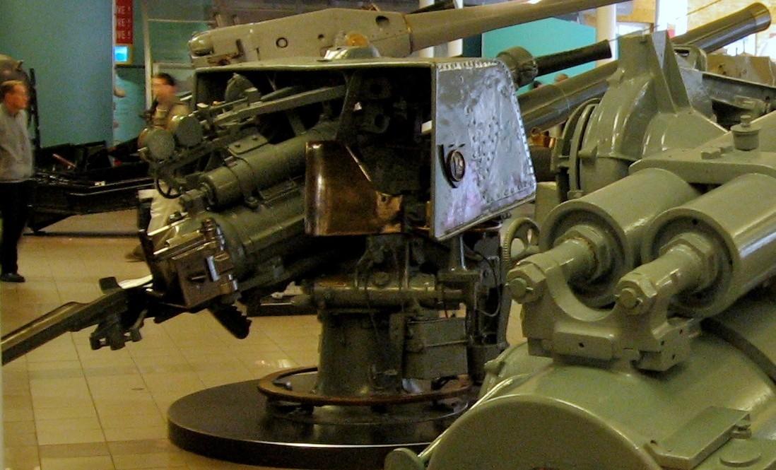 корабельное орудие QF-4 inch Mk-IV