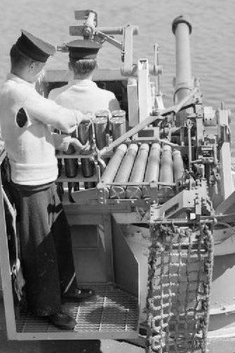 Корабельное орудие QF 6-pdr Mk-IIA