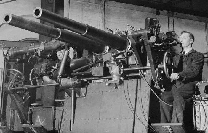 береговое орудие 6-pdr/10cwt QF Mk-I