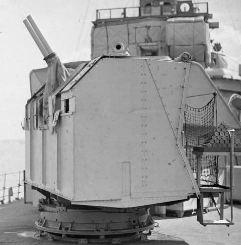 корабельное орудие 6-pdr/10cwt QF Mk-I